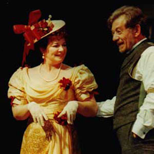 1998, THE SEAGULL (1998): With Clare Higgins  - Photo by Keith Pattison