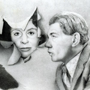 Sarah Miles (June) and Ian McKellen (Walter)