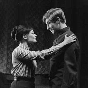 1967, THE PROMISE (1967): Act II: Judi Dench and Ian McKellen  - Photo by Houston Rogers
