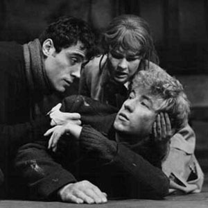 1967, THE PROMISE (1967): Act I: Judi Dench, Ian McShane, Ian McKellen  - Photo by Houston Rogers