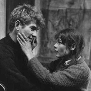 1967, THE PROMISE (1967): Act I: Judi Dench and Ian McKellen  - Photo by Houston Rogers