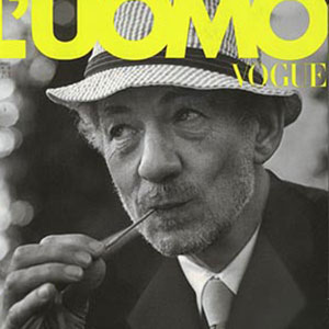 1999,   Cover of LUomo Vogue November 1999  - Photo by Bruce Weber