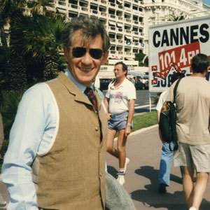 La Croisette, at the Cannes Festival, trying to raise funding for the film RICHARD III