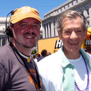With Teddy Witherington, Director of SF Pride