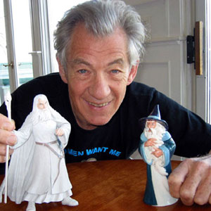 Approved Gandalf the White and a porcelain version of the animated Fellowship of the Ring Gandalf