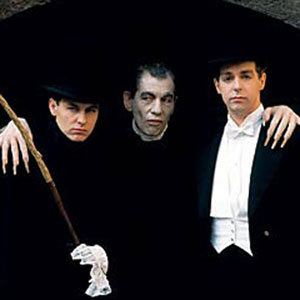 With Pet Shop Boys, as Dracula in the video for Heart