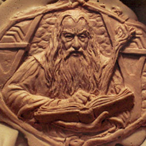 Gandalf medallion prototype