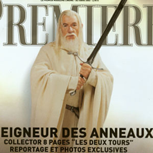 Cover of French Premiere magazine