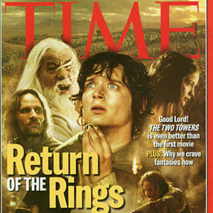 Time Magazine Cover, 2 December 2002