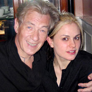 2002, X2: Ian McKellen and Anna Paquin  - Photo by Keith Stern