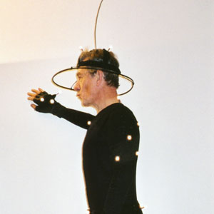 On the motion capture stage