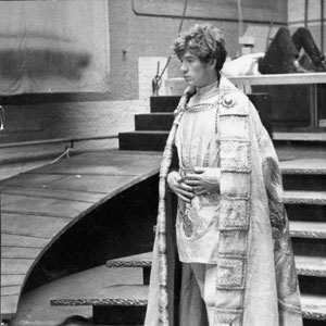 1969, RICHARD II: Costume parade at Donmar Studio (now Donmar Theatre)