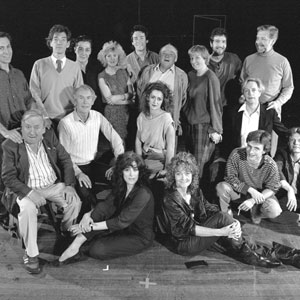 The McKellen/Petherbridge Group: Jonathan Hyde, Ian McKellen, Laurance Rudic, Claire Moore, Simon Dutton, Roy Kinnear, Selina Cadell, Greg Hicks, Stephen MacDonald, Hugh Lloyd, Peter Needham, Julie Legrande, Edward Petherbridge, Eleanor Bron, Sheila Hancock, Dikran Tulaine, Tristram Wymark
