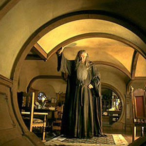 Gandalf in Bag End