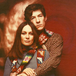 Francesca Annis (Juliet) and Ian McKellen (Romeo)