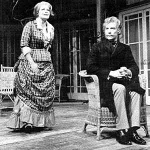 Lona (Judi Dench) and Bernick (Ian McKellen)
