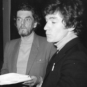 Juliet (Anna Calder-Marshall), Friar Lawrence (Robert Eddison), Romeo (Ian McKellen), recording on 3 March 1970
