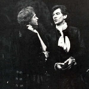1984, VENICE PRESERV'D or A Plot Discovered: Javier (Michael Pennington) and Pierre (Ian McKellen)