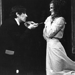 1974, 'TIS PITY SHE'S A WHORE (Wimbledon): Ian McKellen and Paola Dionisotti  - Photo by Martin Newcombe