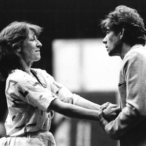 1984, WILD HONEY: Anna Petrovna (Charlotte Cornwell) and Platonov (Ian McKellen)  - Photo by John Haynes