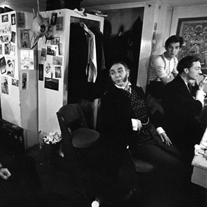 1972, RULING THE ROOST: Backstage  - Photo by Nigel Luckhurst