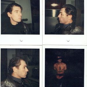 1976, MACBETH: Makeup test Polaroids