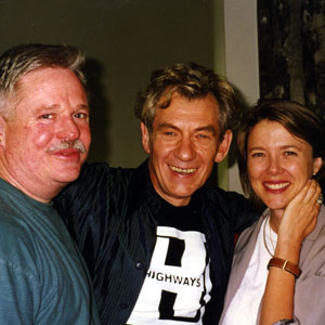 25 May 1997, Los Angeles: Armistead Maupin, Ian McKellen, Annette Bening
