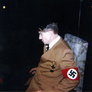 Ian McKellen as Hitler (Polaroid test shot)