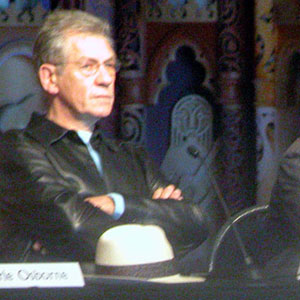 2003, THE LORD OF THE RINGS: RETURN OF THE KING: Press conference at Te Papa museum, Wellington NZ  - Photo by Keith Stern