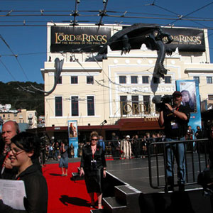 2003, THE LORD OF THE RINGS: RETURN OF THE KING: Embassy Theatre, Wellington NZ  - Photo by Keith Stern
