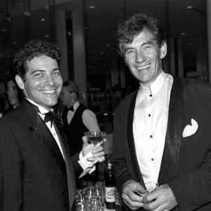 With Michael Feinstein in Boston