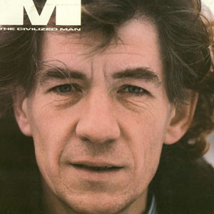 Cover M Magazine, April 1985