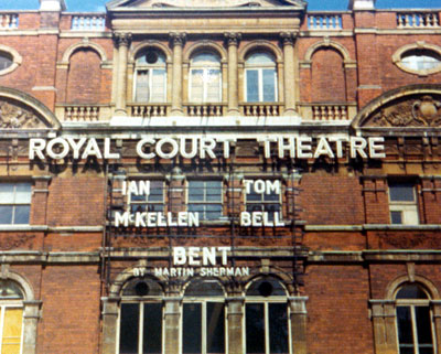 Marquee of the Royal Court Theatre