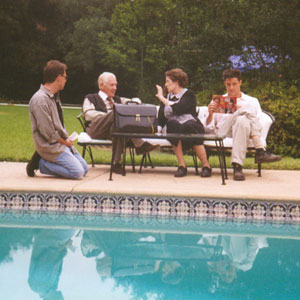 1997, GODS AND MONSTERS: Pool scene