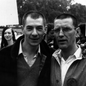 Ian McKellen and Tom Bell