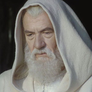 Gandalf contemplates his future.