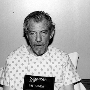 1997, APT PUPIL: Dussander hospital mug shot