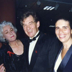 Bea Arthur, Ian McKellen, Cooks Tour A Gala Charity Concert celebrating Ray Cook, the Australian pianist, arranger and conductor.  Shaftesbury Theatre, 18 March 1990 in support of various Aids-related charities. Produced by West End Cares