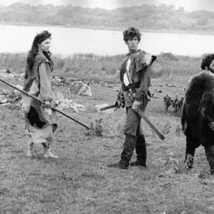 1968, ALFRED THE GREAT: Vivien Merchant, Ian McKellen, Henry Woolf — bandits fighting for Alfred the Great