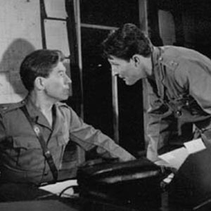 1961, END OF CONFLICT: Mark Eden (R) and Ian McKellen <BR><BR><I>Mark Eden was the most glamorous actor I had worked with � he had star quality, more to do with his looks and demeanour than with his talent.</I>