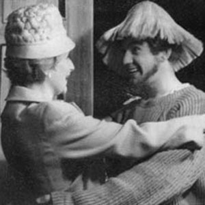 1962, THE IRREGULAR VERB TO LOVE: Sheila Keith (L) and Ian McKellen. <BR><BR><I>I was the hippy son of the household; the beard, like the performance, was false.