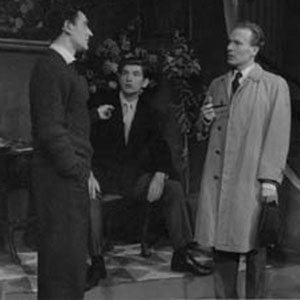 1962, THE BIG KILLING: L to R: Gawn Grainger, Ian McKellen, Jonathan Meddings, Colin Kaye