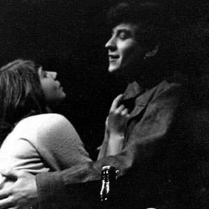 1959, DEUTSCHES HAUS: Anna (Margaret Drabble) and Harry (Ian McKellen), London production