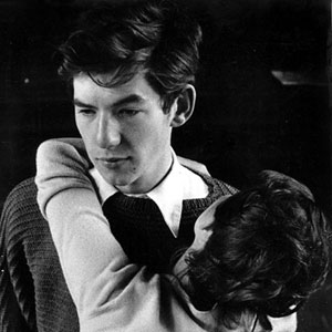 1959, DEUTSCHES HAUS: Ill send for you when everythings settled. -- Harry (Ian McKellen) and Anna (Margaret Drabble), London production