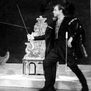 1960, TWELFTH NIGHT (Cambridge): Nay, if you be an undertaker, I am for you. -- Act III Scene 4. Belch (Ian McKellen) and Antonio (David Rowe-Beddoe)