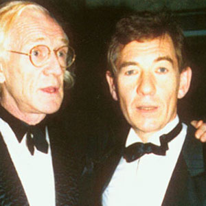 With Richard Harris