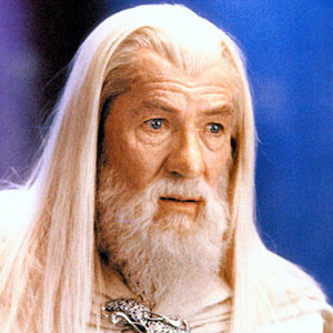 2003, THE LORD OF THE RINGS: RETURN OF THE KING: Gandalf  - Photo by Pierre Vinet