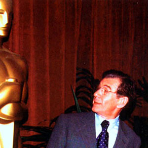 With Oscar at Academy Awards Nominee Luncheon, Beverly Hills