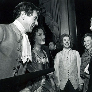Ian McKellen, Jane Seymour, Tim Curry, First Lady Rosalind Carter, President Jimmy Carter; The National Theater, Washington, DC, November 1980