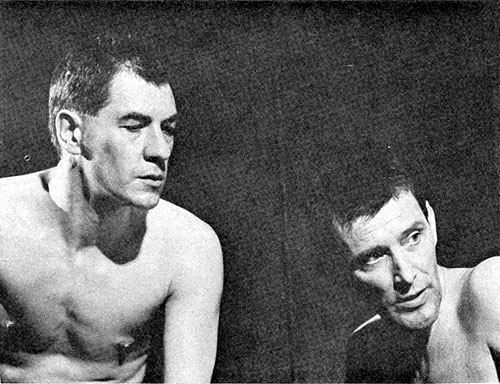 Max (Ian McKellen) and Horst (Tom Bell)